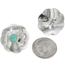 Southwest Turquoise Concho Post Studs 20745