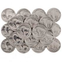 Buffalo Nickels Belt Buckle 23583