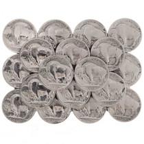Buffalo Nickels Belt Buckle 23583