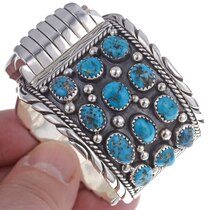 Turquoise Watch Cuff 24518