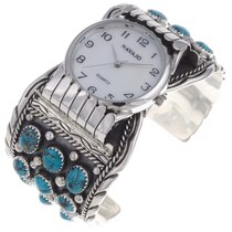 Turquoise Cluster Watch Bracelet 24518