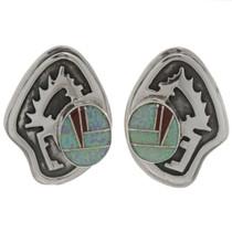 Inlaid Opal Earrings 26774
