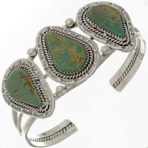 Three Stone Turquoise Bracelet 26375