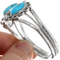Natural Spiderweb Turquoise Bracelet 27740
