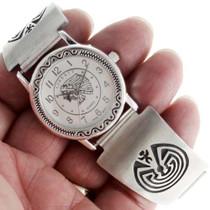 Overlaid Sterling Hopi Watch 24449