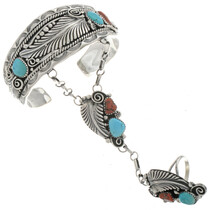 Navajo Attached Bracelet Set 24463