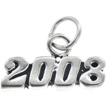 Sterling Silver 2008 Horizontal Charm 35447