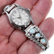 American Indian Sterling Opal Watch 22795