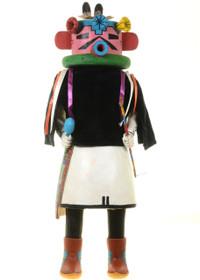 Velvet Shirt Kachina Doll 27607