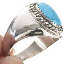 Navajo Silver Mens Ring 26936