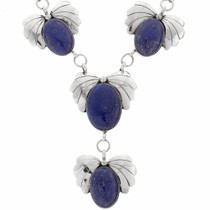 Blue Lapis Y Necklace 23552