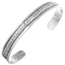 Native American Sterling Cuff Bracelet 22855
