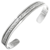 Native American Sterling Cuff Bracelet 22855