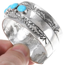 Navajo Style Sterling Silver Turquoise Jewelry 23936