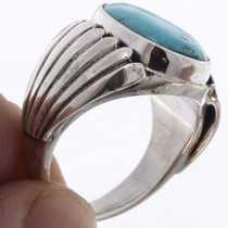 Native American Silver Mens Ring 25651