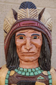 Cigar Store Indian Headress
