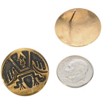 Gold Southwest Post Earrings 14669
