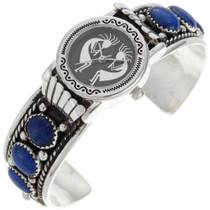 Genuine Lapis Watch Bracelet 24434