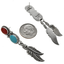 Native American Silver Post Dangles 29504