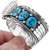 Native American Turquoise Cuff Watch 24471