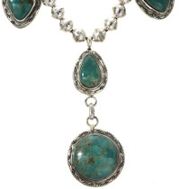Southwest Green Turquoise Necklace 12463