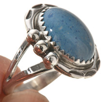 Native American Blue Denim Lapis Ring 28743