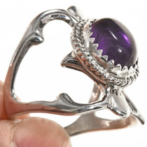 Ladies Amethyst Navajo Ring 29015