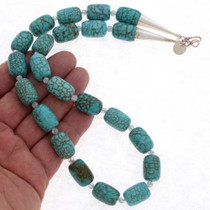 Turquoise Beaded Necklace 22412