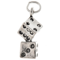 Sterling Silver Dice Charm 34614