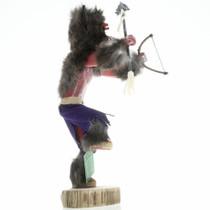 Navajo Black Buffalo Kachina Doll 16805