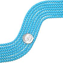 Turquoise Round Beads 25657