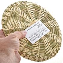 Indian Swirl Plate Basket