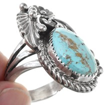 Sterling Silver Royston Turquoise Ring 27122