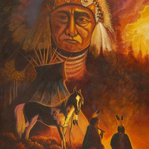 Navajo Limited Edition Giclée Print 16401