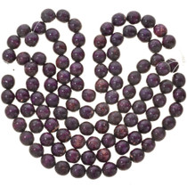 25mm Purple Wooden Beads 16 inch Strand 1 inch Round Wood Beads