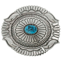 Kingman Turquoise Belt Buckle 26274