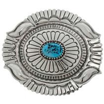 Kingman Turquoise Belt Buckle 26274