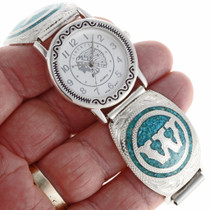 Inlaid Custom Initial Watch 24263