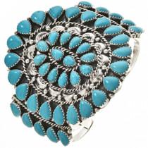 Turquoise Cluster Bracelet 28693