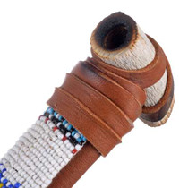 Plains Indian Beaded Pipe 24566