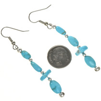 Kingman Turquoise Earrings 29034