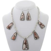 Wild Horse Magnesite Bead Necklace Set 27902