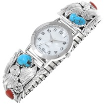 Mens Turquoise Native Watch 24499