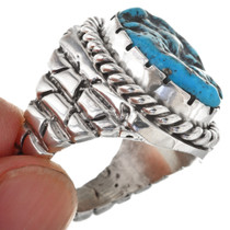 Navajo Sterling Adobe Ring 29598