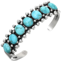 Turquoise Silver Bracelet 25927