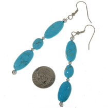 Kingman Turquoise Earrings 28302