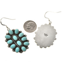 Old Pawn Style Petit Point Earrings 28844