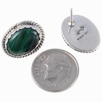 Handmade Malachite Earrings 24877