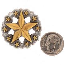 Round Silver Concho 25432