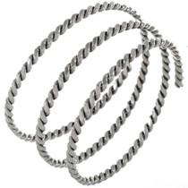 Navajo Wraparound Twist Wire Bracelet 12909